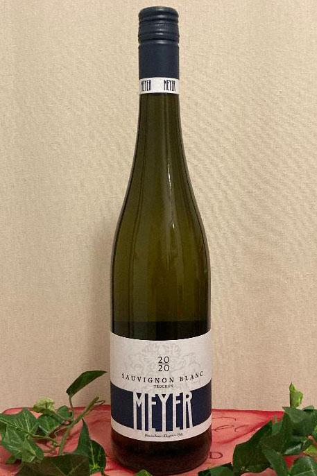 2020 Sauvignon Blanc trocken Biowein, Weingut Meyer, Südpfalz