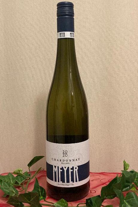 2020 Chardonnay trocken Biowein, Weingut Meyer, Heuchelheim-Klingen